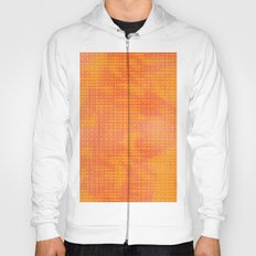 Orange Spirograph Hoody