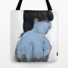 Fall Over, Spring Back Tote Bag