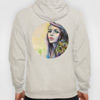 Peacock Girl Hoody