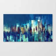 City Nights Canvas Print