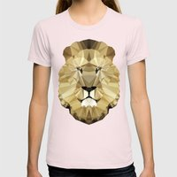 Polygon Heroes - The Kin… Womens Fitted Tee Light Pink SMALL