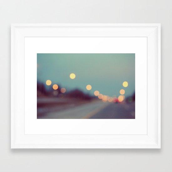 February Shine Framed Art Print