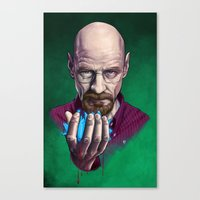 Heisenberg (Breaking Bad) Canvas Print