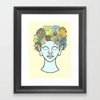 URCHIN Framed Art Print