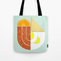 Breakfast Crest Tote Bag