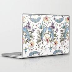 Narwhal pattern Laptop & iPad Skin