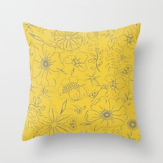 Aurulent Throw Pillow