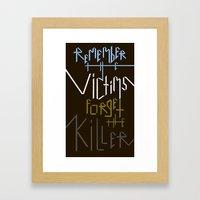 Sometimes History Should... Framed Art Print