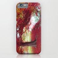 Red Autumn  iPhone 6 Slim Case