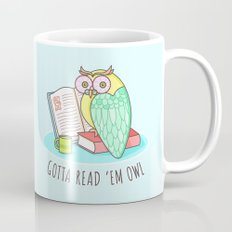 Reading Owl Mug