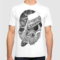 lumberjack Mens Fitted Tee White SMALL