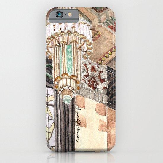 inside the Art Deco spaceship iPhone & iPod Case