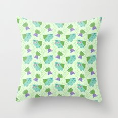 Plant pals Throw Pillow