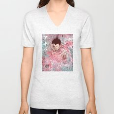 Contained Unisex V-Neck