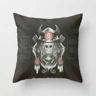 Shogun Executioner Throw Pillow