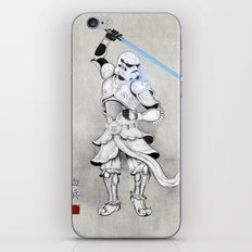 Samurai Trooper iPhone & iPod Skin