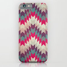 Chevron pattern_purple, blue and pink Slim Case iPhone 6s