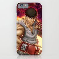 iPhone & iPod Case featuring Ryu Street Fighter by RoPerez