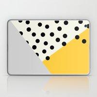 Mod Dots - Yellow And Gr… Laptop & iPad Skin