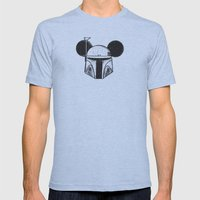 Boba Fett Mens Fitted Tee Athletic Blue SMALL