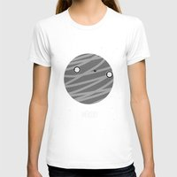 Mercury Womens Fitted Tee White SMALL
