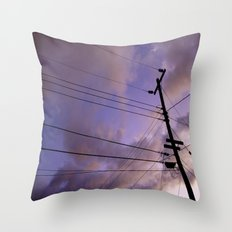 Lines Of Communication #2  Throw Pillow