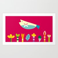 The Fish's Dream Art Print