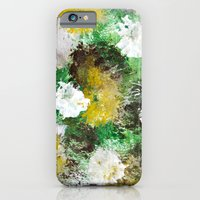 iPhone Cases featuring Forest Abstract by Christina Rollo
