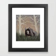 Forest Beastie Framed Art Print
