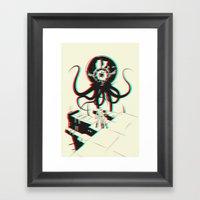 3D Adventure Framed Art Print