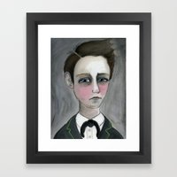 Arthur Rimbaud Soleil et chair, Victorian Writers Portrait Framed Art Print