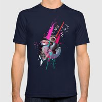 Judy Mens Fitted Tee Navy SMALL