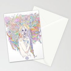 raw color Stationery Cards