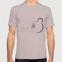 x_o bear Mens Fitted Tee Cinder SMALL
