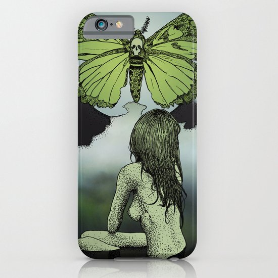 The Great Moth iPhone & iPod Case