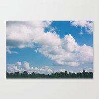 Pataskala Sky Canvas Print