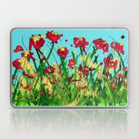 Sky Is Blue Flowers Are … Laptop & iPad Skin