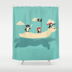 The Scourge of the Arctic Shower Curtain