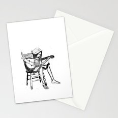 musical solitude Stationery Cards