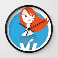 Bye-Bye love Wall Clock