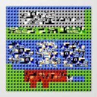 > NES V1 Canvas Print