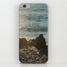 The Ocean is Calling iPhone & iPod Skin