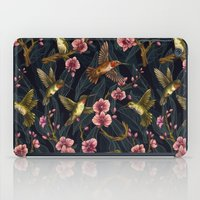 Hummingbird Pattern iPad Case