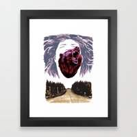 Cry For The Lost Framed Art Print