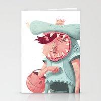 Shark Kid Stationery Cards