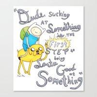Adventure Time! Canvas Print