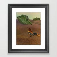 Kitty's World Framed Art Print