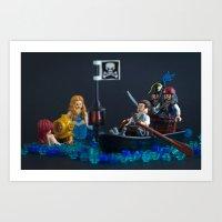 Talk Like A Pirate Day Art Print
