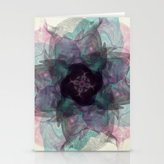 Devil's flower Stationery Card