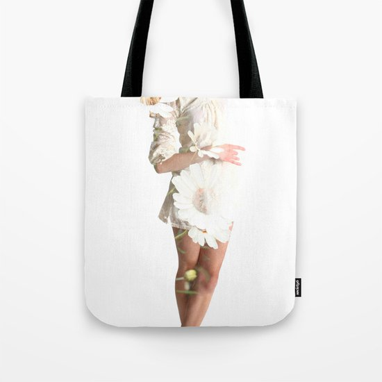 Daisy Dance Tote Bag